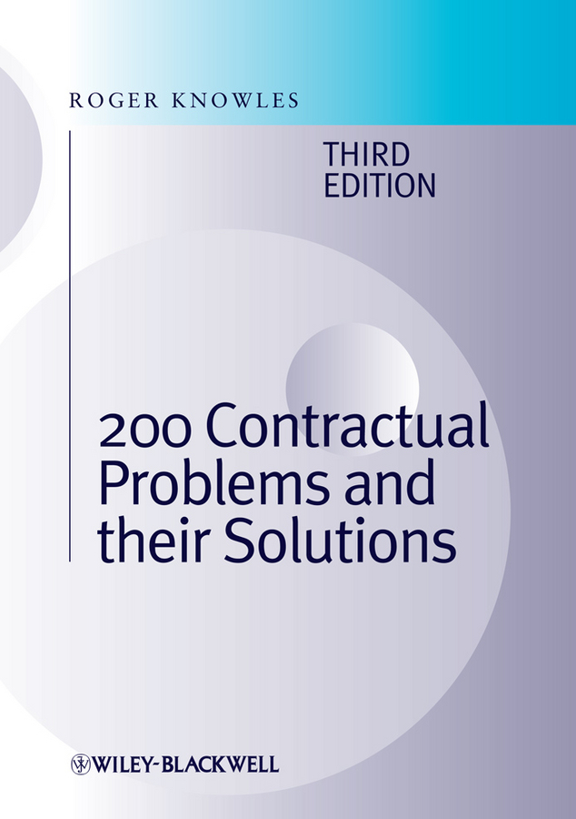 J. Knowles Roger 200 Contractual Problems and their Solutions j knowles roger 200 contractual problems and their solutions