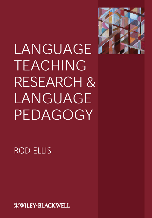 Rod Ellis Language Teaching Research and Language Pedagogy english learning and teaching in taiwan