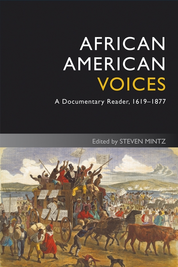Steven Mintz African American Voices. A Documentary Reader, 1619-1877 a few lessons from american history reader for students of english