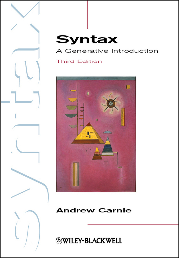 Andrew  Carnie Syntax. A Generative Introduction andrew teufel fisher investments on technology