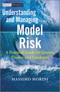 Massimo  Morini - Understanding and Managing Model Risk. A Practical Guide for Quants, Traders and Validators
