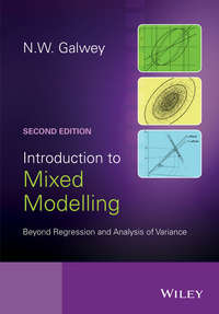 N. Galwey W. - Introduction to Mixed Modelling. Beyond Regression and Analysis of Variance