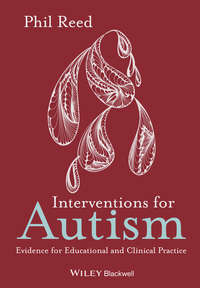 Phil  Reed - Interventions for Autism. Evidence for Educational and Clinical Practice