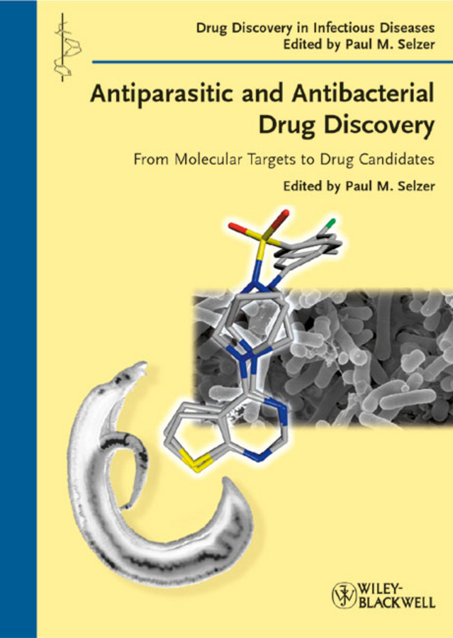 Paul Selzer M. Antiparasitic and Antibacterial Drug Discovery. From Molecular Targets to Drug Candidates 10pcs lot free shipping tlc5615i tlc5615 sop new