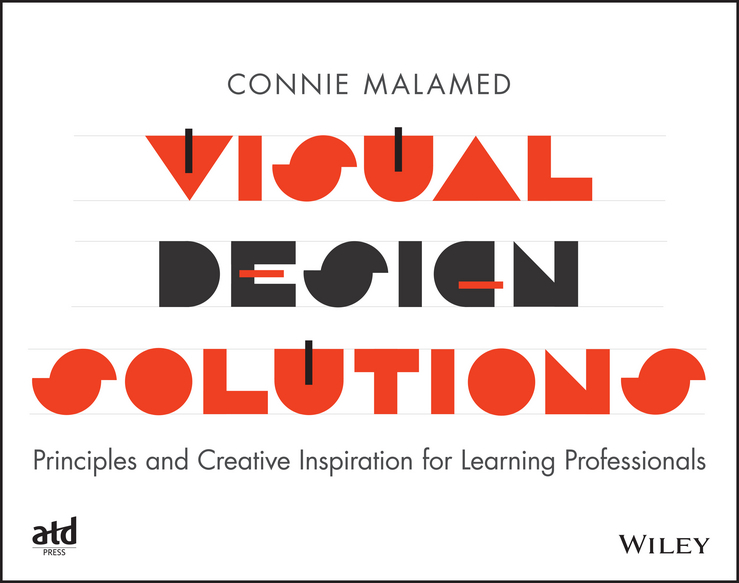 Connie Malamed Visual Design Solutions. Principles and Creative Inspiration for Learning Professionals stylish metal and zipper design peep toe shoes for women