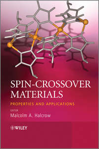 - Spin-Crossover Materials. Properties and Applications
