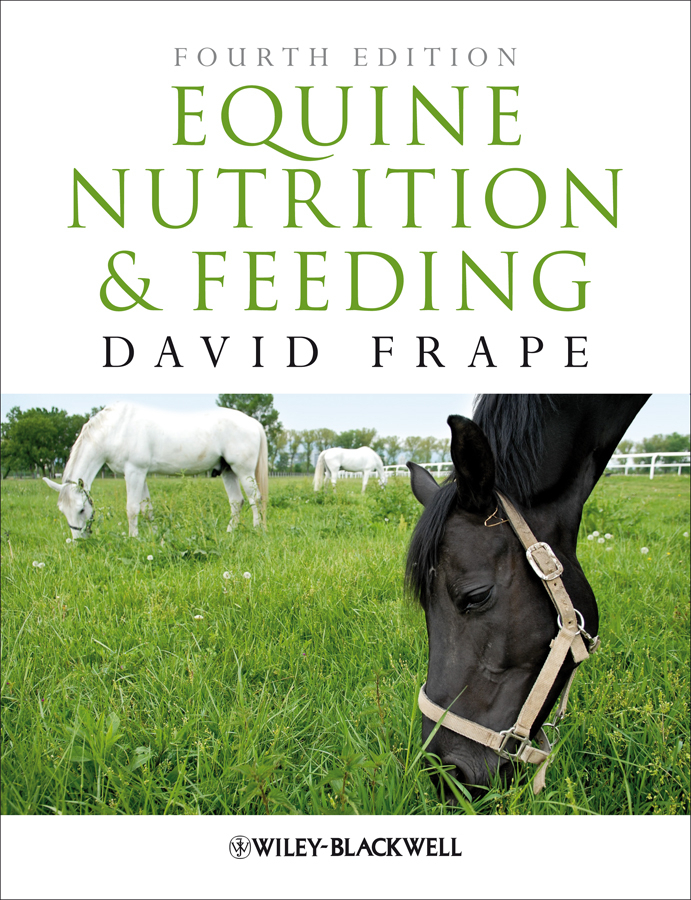 David  Frape Equine Nutrition and Feeding culinary calculations