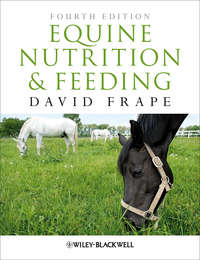 David  Frape - Equine Nutrition and Feeding