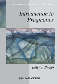 Betty Birner J. - Introduction to Pragmatics