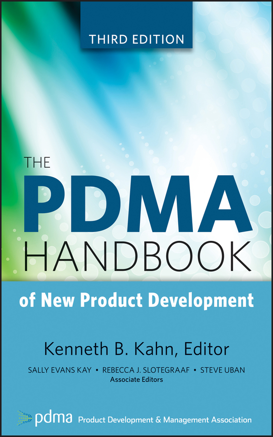 Kenneth Kahn B. The PDMA Handbook of New Product Development shayne gad cox development of therapeutic agents handbook