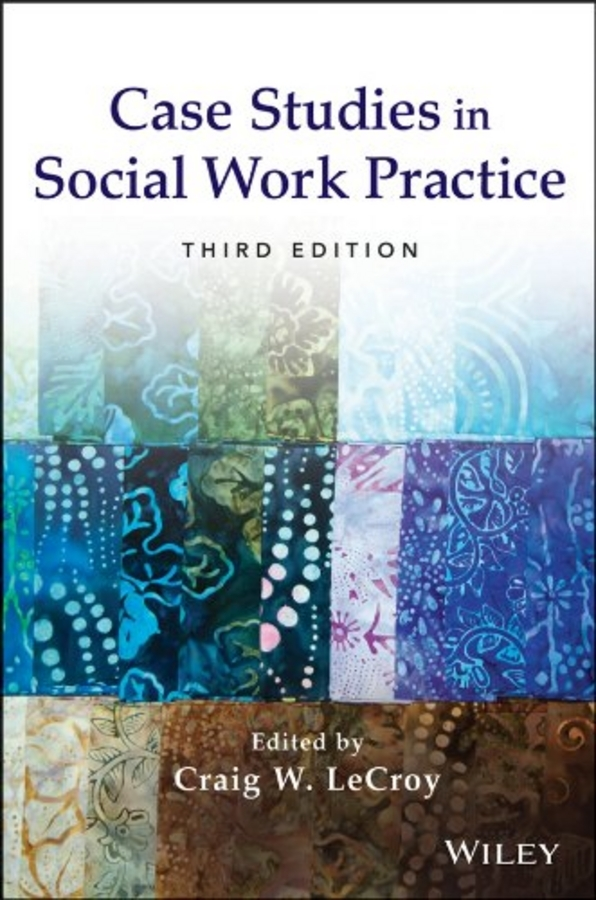 Craig LeCroy W. Case Studies in Social Work Practice spring and autumn long sleeve work wear set reflective of male workwear protective clothing work wear