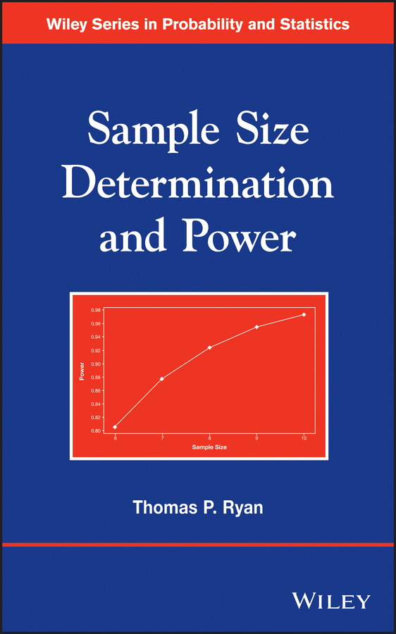 Thomas Ryan P. Sample Size Determination and Power топ determination bra