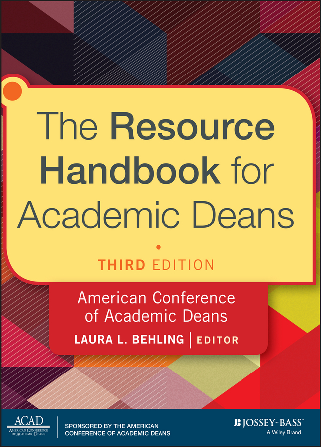 Laura Behling L. The Resource Handbook for Academic Deans promoting academic competence and literacy in school