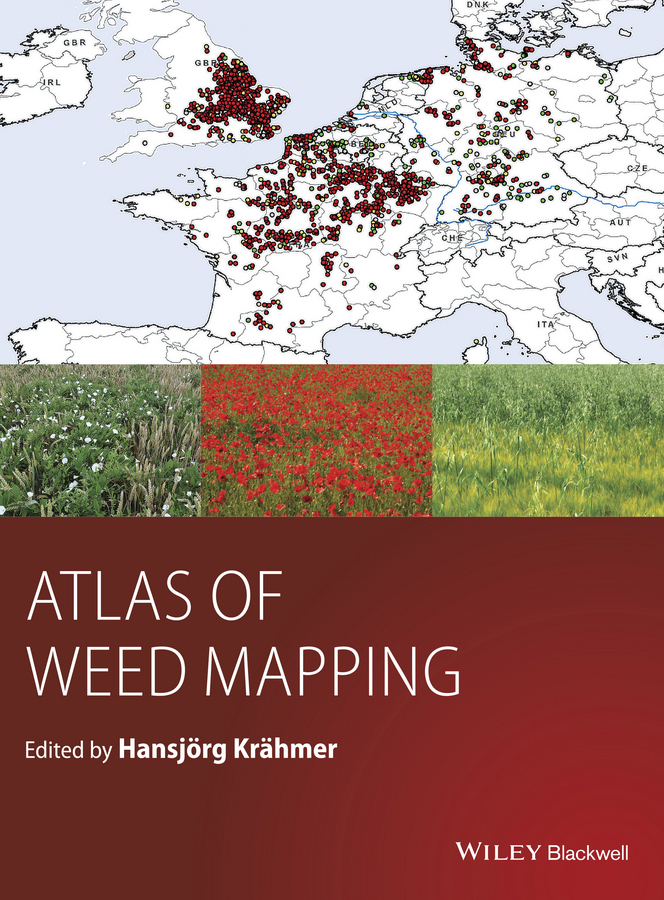 Hansjoerg Kraehmer Atlas of Weed Mapping regatta детям