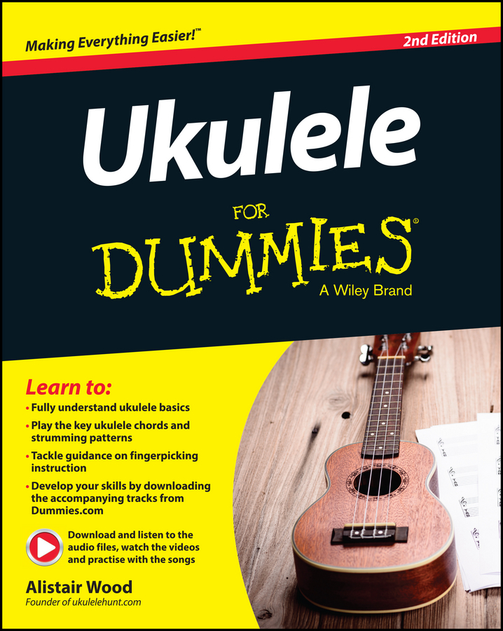 Alistair Wood Ukulele For Dummies термос biostal ng 1000 1 1 0 л универсальный складная ручка