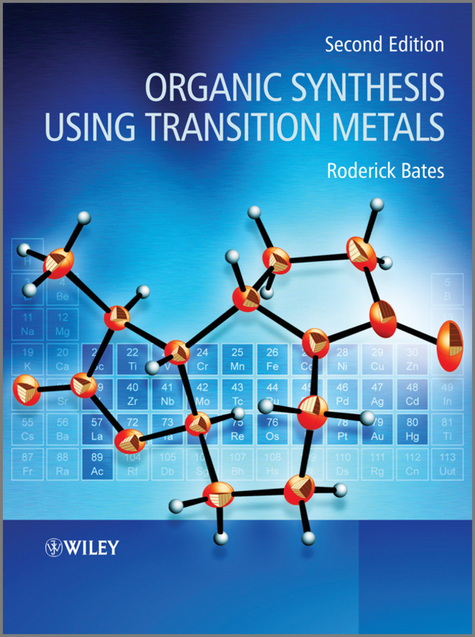 Roderick Bates Organic Synthesis Using Transition Metals recovery of metals from sludges and wastewaters