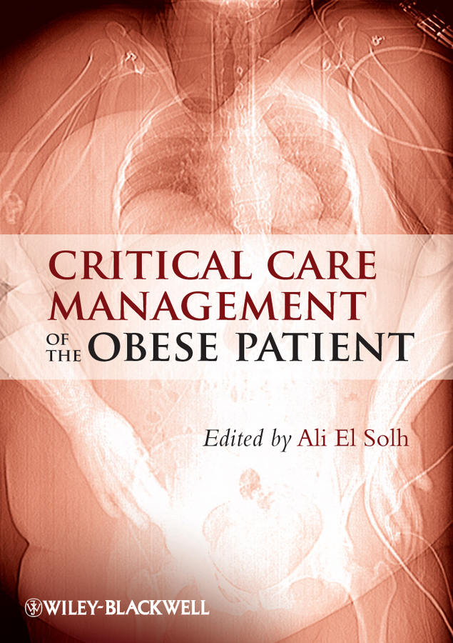 Ali Solh El Critical Care Management of the Obese Patient ISBN: 9781119962052 50pairs lot emergency supplies ecg defibrillation electrode patch prompt aed trainer accessories not for clinical use
