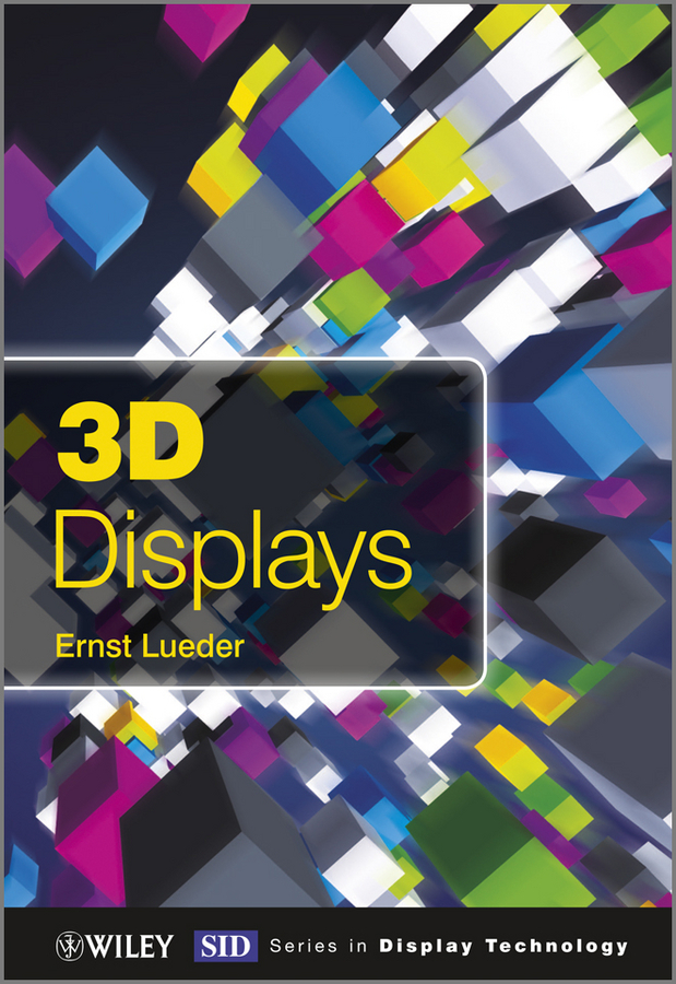 Ernst Lueder 3D Displays ISBN: 9781119962755 aa104vh01 lcd displays