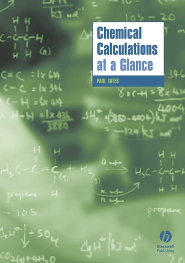 где купить Paul Yates Chemical Calculations at a Glance ISBN: 9781405146210 по лучшей цене