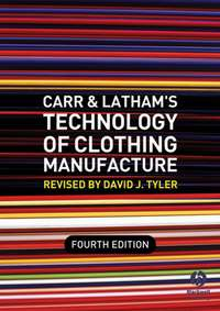David Tyler J. - Carr and Latham's Technology of Clothing Manufacture