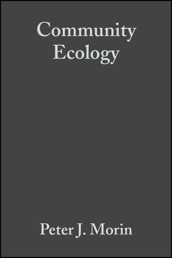 Peter Morin J. Community Ecology ISBN: 9781444312317 peter graham building ecology first principles for a sustainable built environment