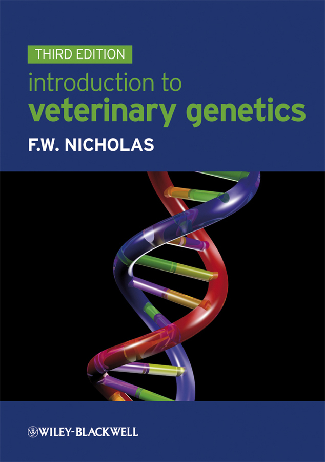 Frank Nicholas W. Introduction to Veterinary Genetics