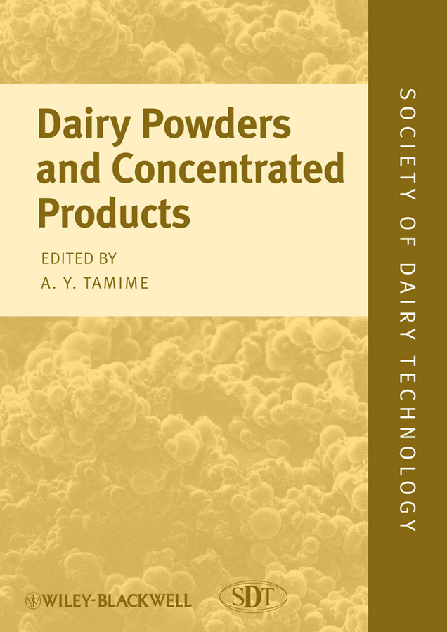 Adnan Tamime Y. Dairy Powders and Concentrated Products ISBN: 9781444322736 dairy extension strategies