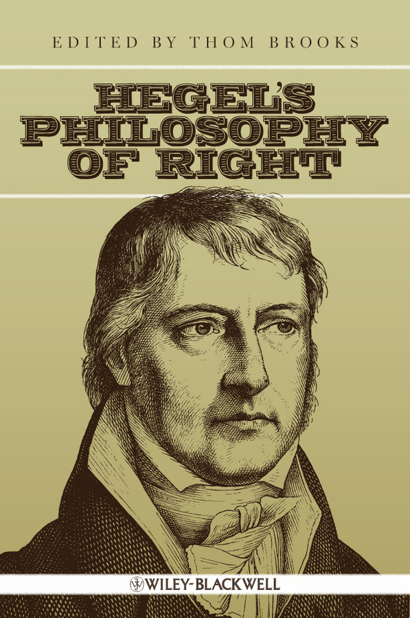 Thom Brooks Hegel's Philosophy of Right ISBN: 9781444354225 a study on the perception of forests right adhere