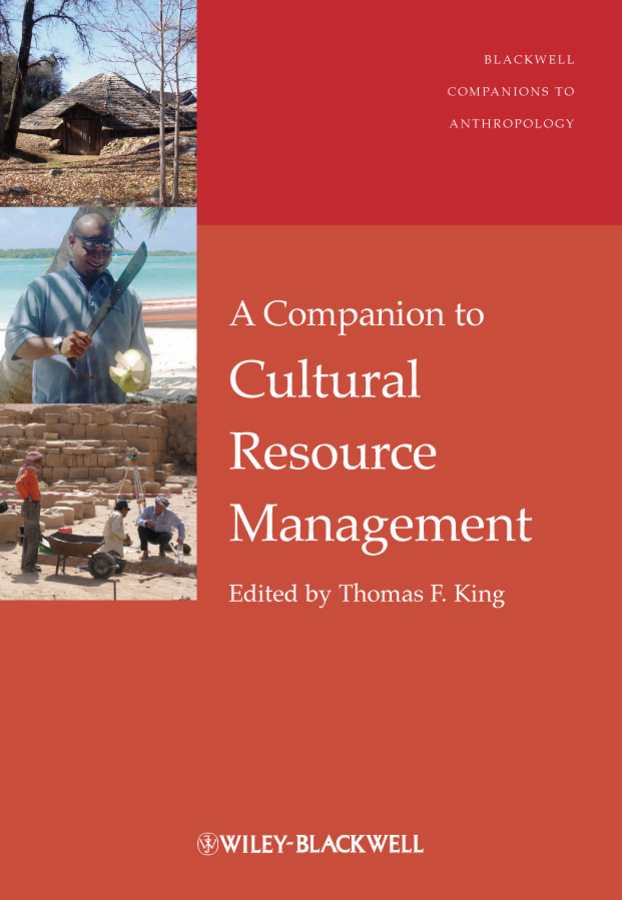 Thomas King F. A Companion to Cultural Resource Management water resources management in bangladesh