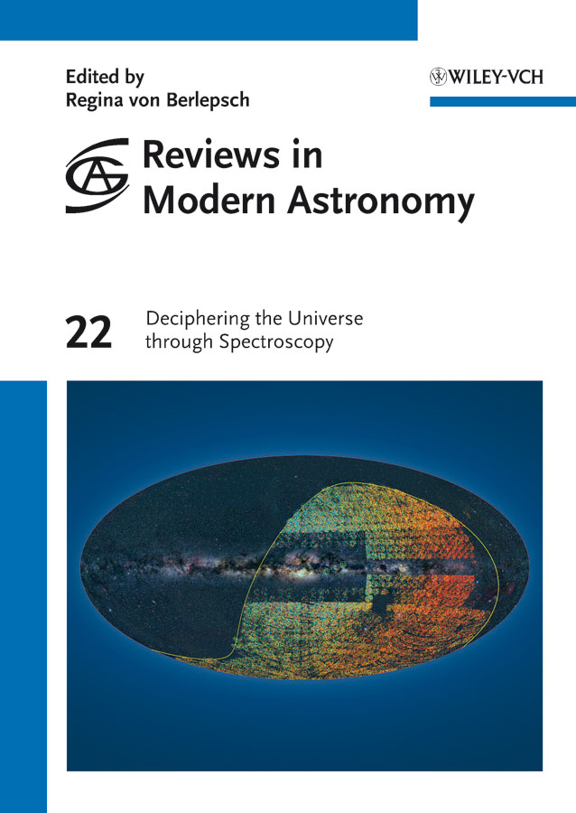 Regina Berlepsch von Reviews in Modern Astronomy, Deciphering the Universe through Spectroscopy masters of the universe