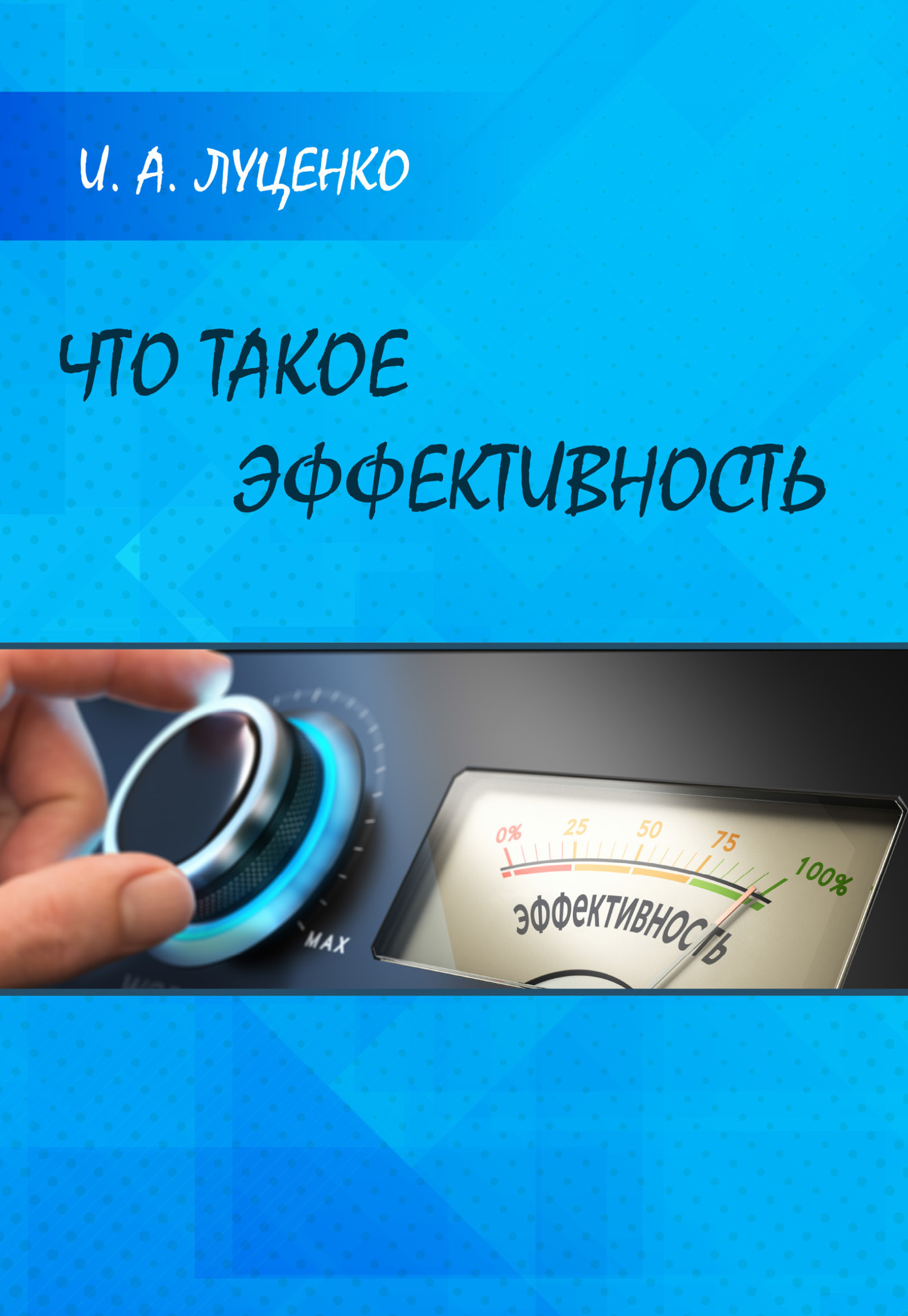 И. А. Луценко Что такое эффективность в с антонов 100 великих операций спецслужб