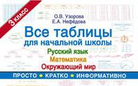 О. В. Узорова - Все таблицы для начальной школы. Русский язык, математика, окружающий мир. 3-й класс