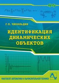 Геннадий Чикильдин - Идентификация динамических объектов