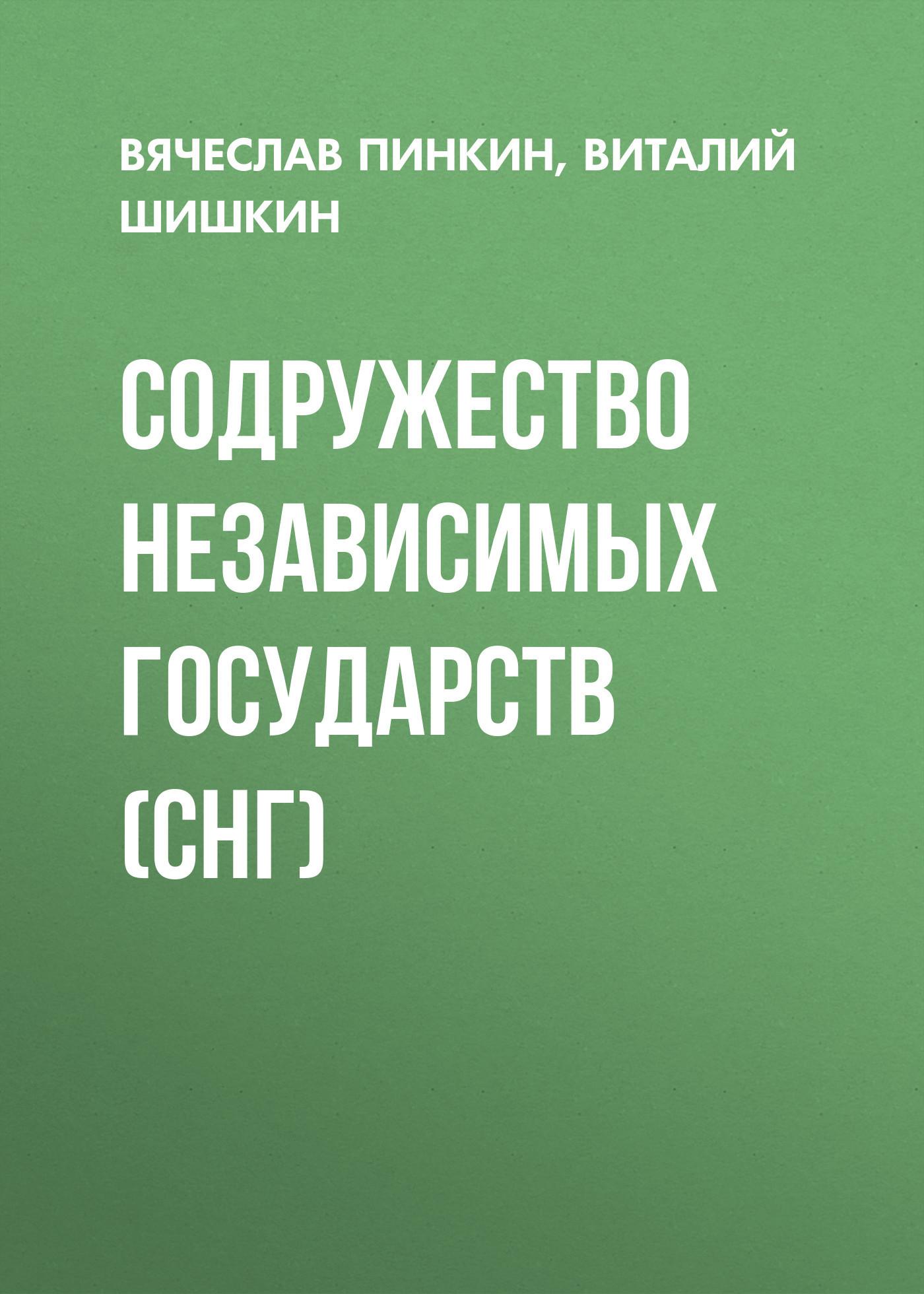 Вячеслав Пинкин Содружество Независимых Государств (СНГ)