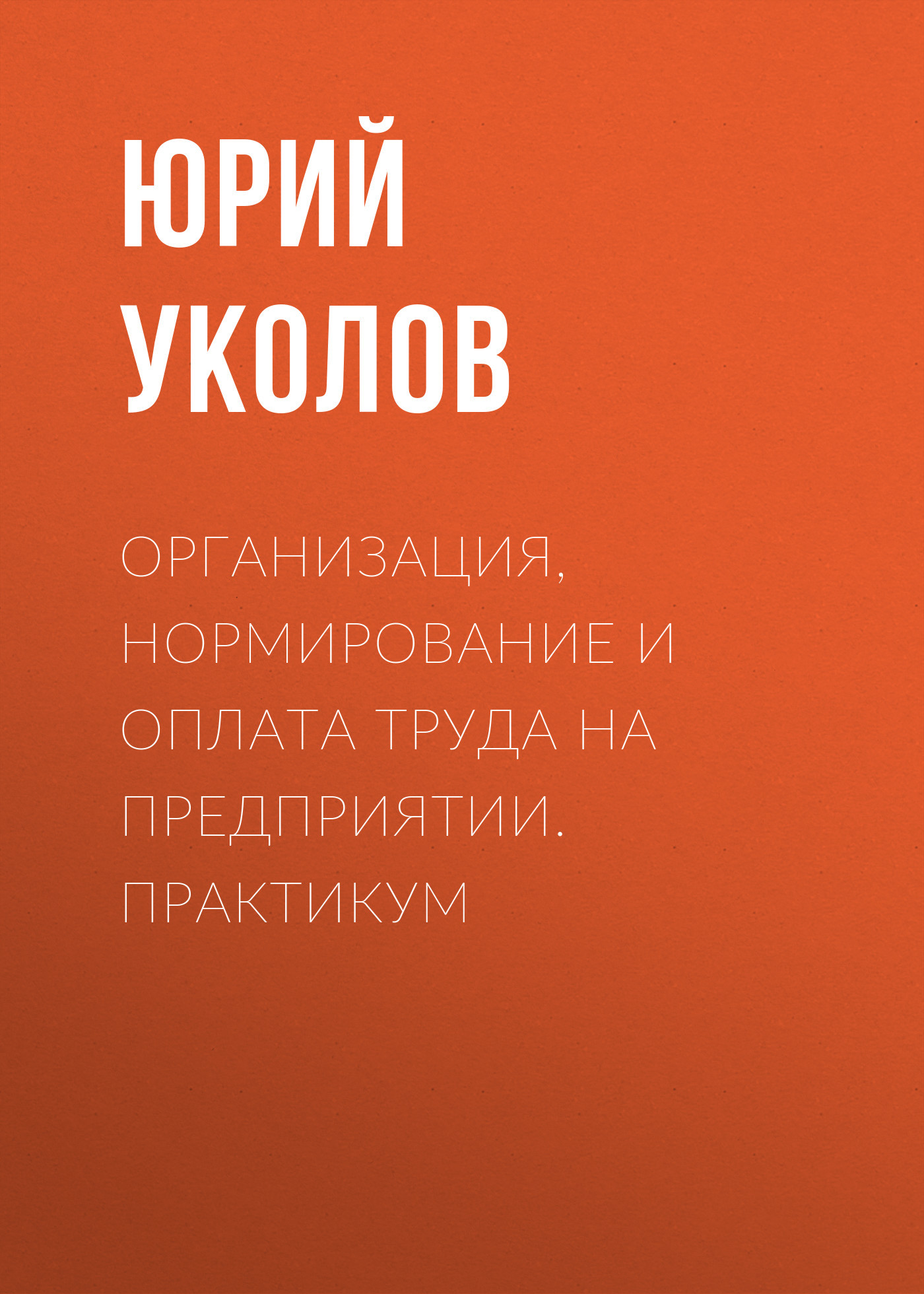 Юрий Уколов Организация, нормирование и оплата труда на предприятии. Практикум славин и практикум стратегия расчет эндшпиль