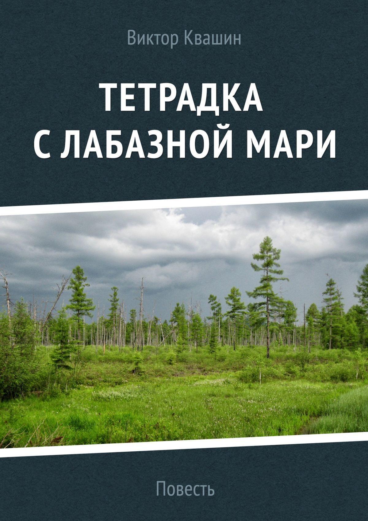 Обложка книги Тетрадка с лабазной мари, автор Виктор Квашин