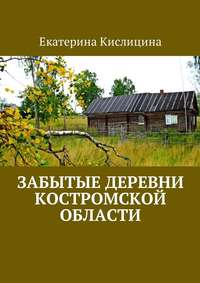 Екатерина Кислицина - Забытые деревни Костромской области