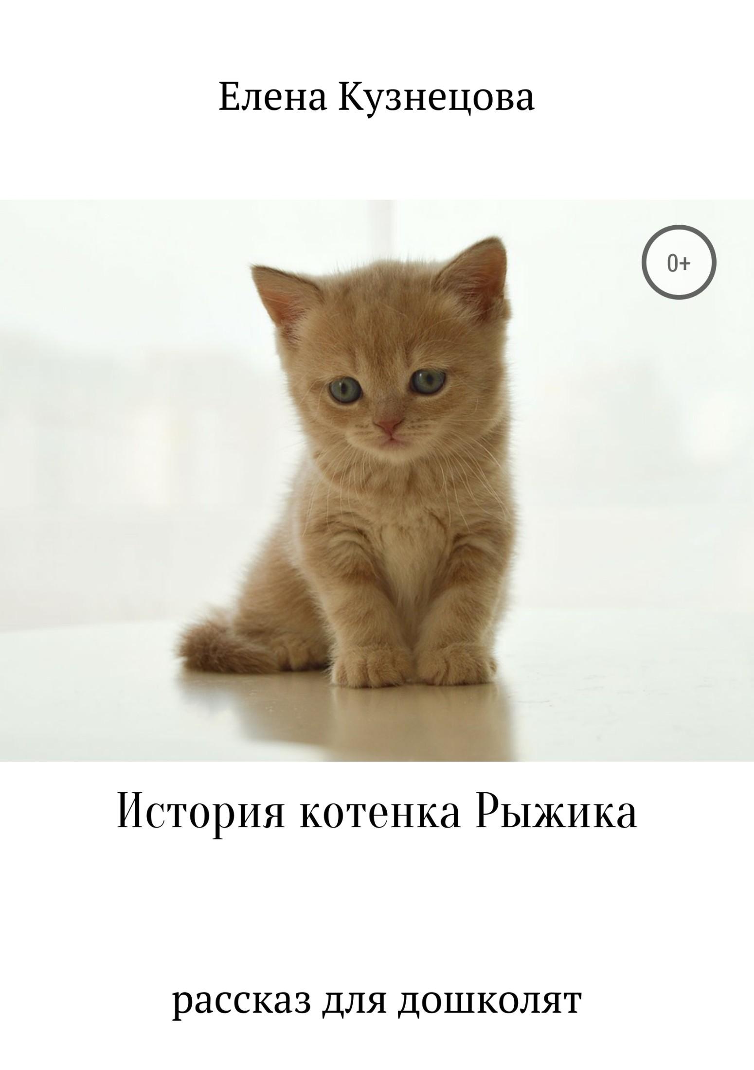 Елена Алексеевна Кузнецова История котенка Рыжика