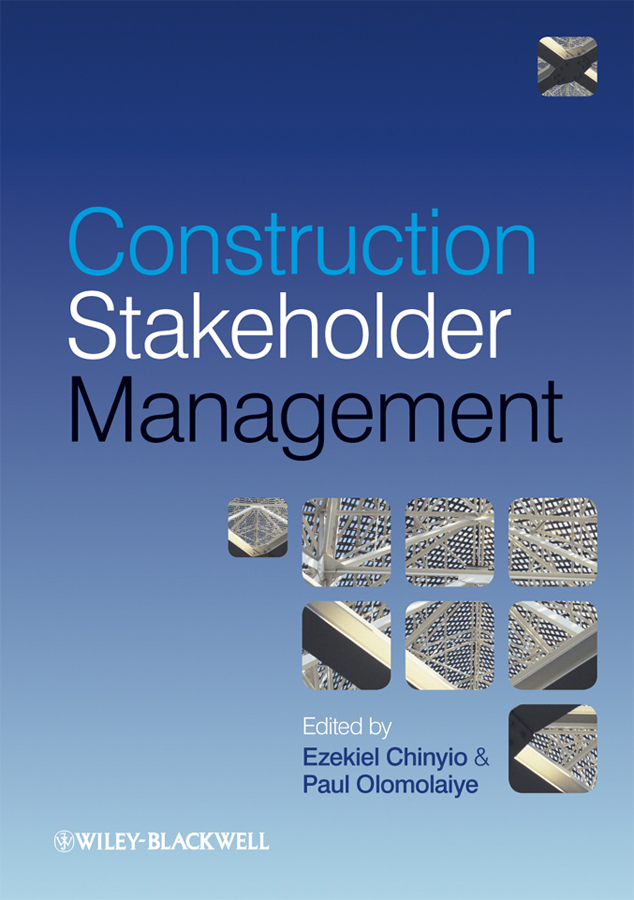 Olomolaiye Paul Construction Stakeholder Management alternative dispute resolution in the construction industry