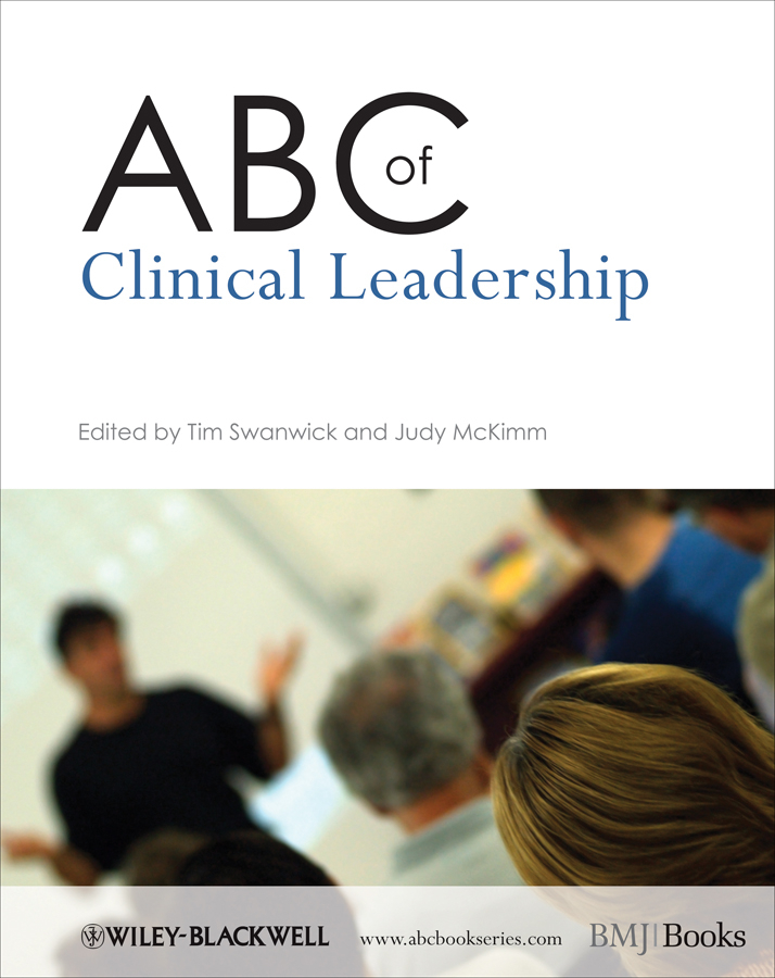McKimm Judy ABC of Clinical Leadership ISBN: 9781444340853 the integral leadership of dr jane goodall
