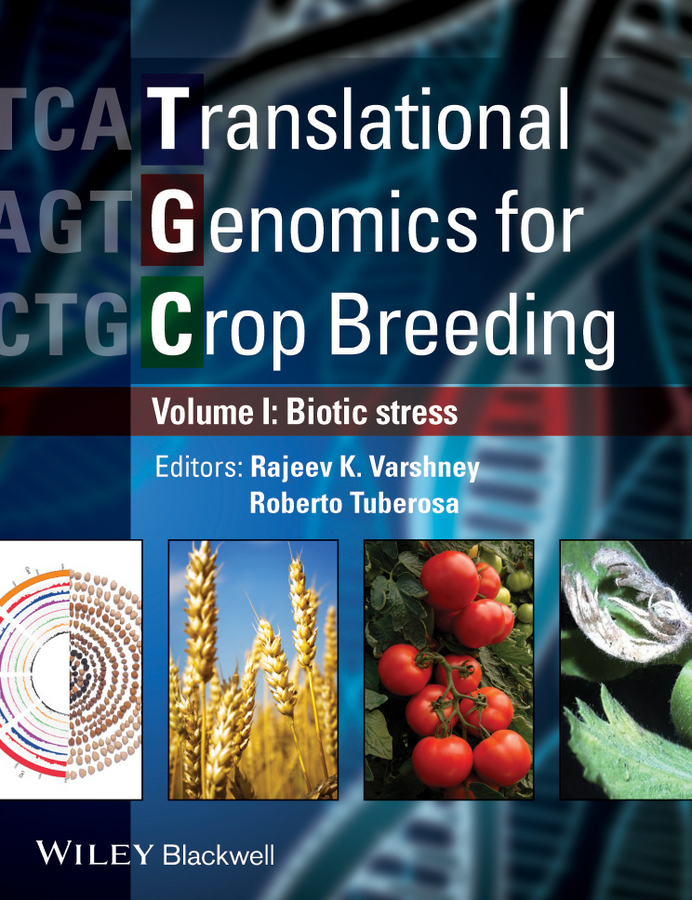 Varshney Rajeev Translational Genomics for Crop Breeding. Volume 1 - Biotic Stress red curved crop top