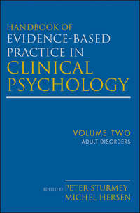 Hersen Michel - Handbook of Evidence-Based Practice in Clinical Psychology, Adult Disorders