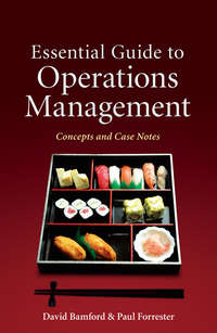 Forrester Paul - Essential Guide to Operations Management. Concepts and Case Notes