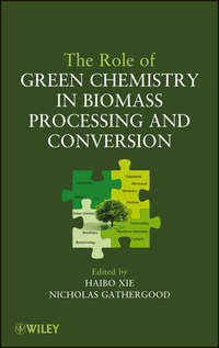 Xie Haibo - The Role of Green Chemistry in Biomass Processing and Conversion