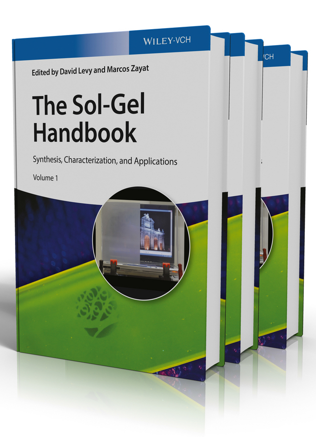 Levy David The Sol-Gel Handbook. Synthesis, Characterization and Applications, 3-Volume Set at home with handwriting 1