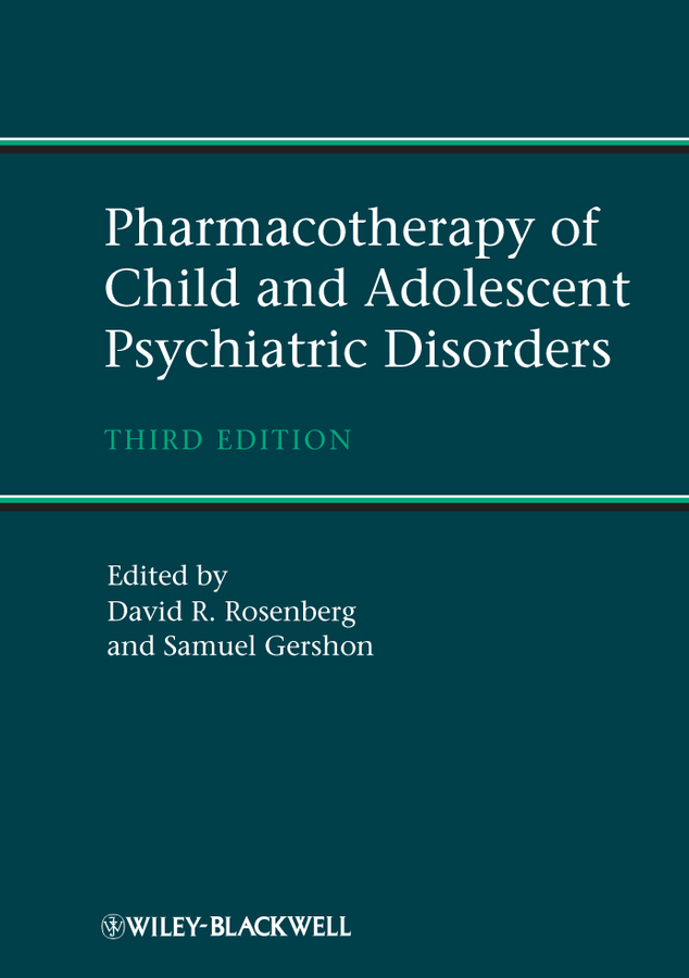 Gershon Samuel Pharmacotherapy of Child and Adolescent Psychiatric Disorders
