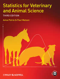 Watson Paul - Statistics for Veterinary and Animal Science