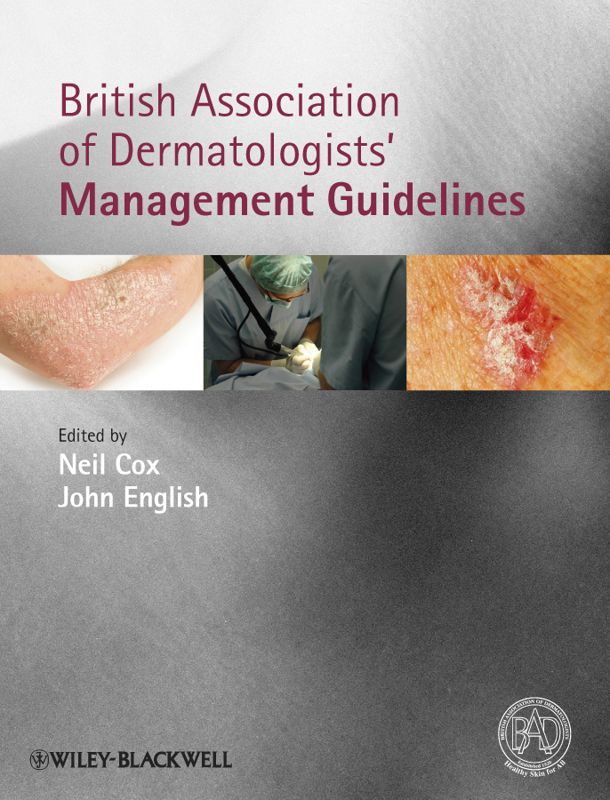 Cox Neil British Association of Dermatologists' Management Guidelines ISBN: 9781444329872 information management in diplomatic missions