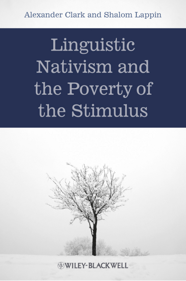Lappin Shalom Linguistic Nativism and the Poverty of the Stimulus ISBN: 9781444390544 rural household endowment and poverty