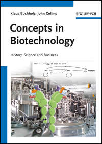 Buchholz Klaus - Concepts in Biotechnology. History, Science and Business